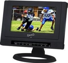 """SuperSonic 9"""" Widescreen Portable DVD by Supersonic. $116.35. When we mention the SuperSonic SC-199 Portable LCD Television and its efficiently low power consumption of only 18 Watts as well as its AC/DC compatibility, your options for viewing venues virtually becomes limitless."""