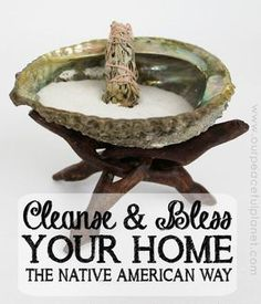 Smudging is a Native American ceremony that is spiritual in nature. It is done to remove negative energy from a space and also has the added benefit of removing odors!