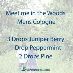 5 essential oil cologne blends for men. Ditch the chemical cologne and try these blends of essential oils in a roller bottle for men.