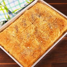 We love ourselves a good crescent dough hack, and this one is one of our faves. Look for dough you can buy as a full sheet (as opposed to the kind with perforated edges). It's not totally necessary, but it'll make things easier to assemble. Get the recipe Breakfast Items, Breakfast Bake, Breakfast Dishes, Hashbrown Breakfast, Office Breakfast Ideas, Cresent Roll Breakfast Casserole, Yummy Breakfast Ideas, German Breakfast, Breakfast Slider