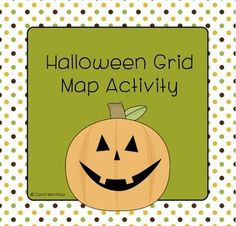 Integrate basic grid map skills with Halloween.  The Halloween Grid Map Activity will provide your K - 3rd grade students with a simple, enjoyable introduction to reading grid maps.  Each student will create his/her own grid map, and answer basic questions about the grid map on an extension worksheet.