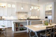 White inset Kitchen - traditional - kitchen - salt lake city - Benjamin Blackwelder Cabinetry