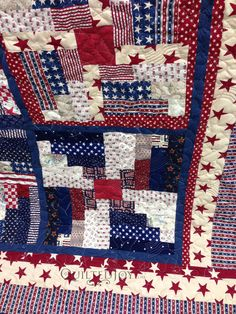 Sew Quilt Log cabin fire work quilt - Log Cabin quilt variation made for the Quilts of Valor project on an APQS Millennium longarm quilting machine. Patchwork Log Cabin, Log Cabin Quilt Pattern, Log Cabin Quilts, Quilt Block Patterns, Quilt Blocks, Log Cabins, Farm Quilt, Apron Patterns, Rustic Cabins
