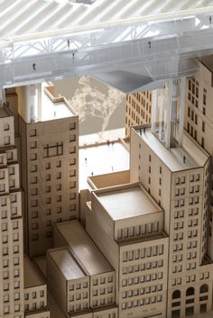 Architectural Model   Air Ops: A Retroactive Platform for Energy Exchange   James Leng   Archinect