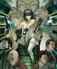 Ghost in the Shell // Section 9 #ghostintheshell