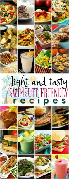 These Light and Tasty Swimsuit Friendly Recipes are my go to list when the holidays are over and I need to do some damage control.  via @favfamilyrecipz
