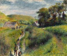 Pierre Auguste Renoir Poster Les Vendangeurs