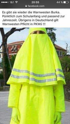 warnweste burka