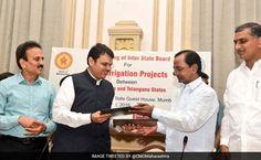 Telangana, Maharashtra Sign Agreement On Godavari Projects