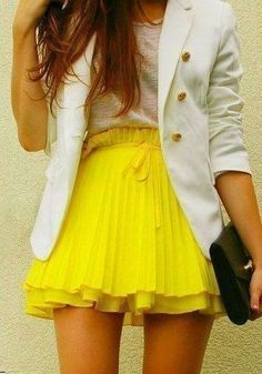 Love the yellow!