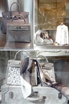 Hermes window displays, Paris