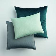 SAHCO Residence Collection - cushions in aqua tones