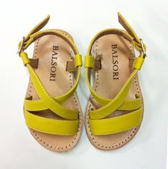 Love these yellow sandals