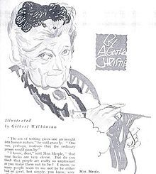 Agatha Christie's Miss Marple.