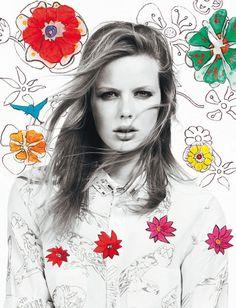 Fleurs arty : pétales, corolles et Liberty, les imprimés de la saison