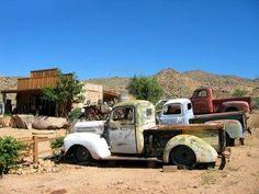 old pickup trucks, arizona