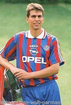 Markus Babbel Bayern München 1995-96 seltenes Foto