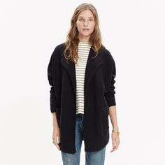 Oversized Sweater-Jacket : AllProducts | Madewell