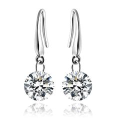 Luxury Zircon Dangle Earrings AAA Grade Stone Earrings Fashion Crystal Earrings Drop Earring $5.99