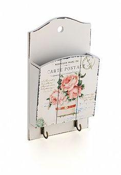 Porta Cartas e Chaves Pink Roses