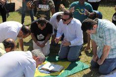O Brasil para Cristo faz ato profético e convoca 12 meses de intercessão pelo país
