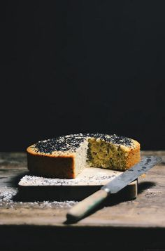 Sesame Tahini Baath (Goan Coconut Cake) Cake |A Brown Table