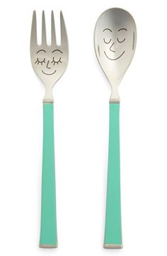 kate spade new york 'crunch bunch' spoon & fork feeding set | Nordstrom