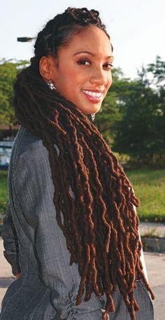 Lovely Locs! - http://www.blackhairinformation.com/community/hairstyle-gallery/locs-faux-locs/lovely-locs-2/ #locsandfauxlocs