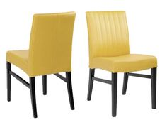 Barrima Dining Chair-Yellow - $189 each