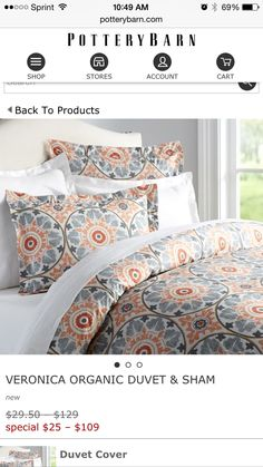 Possible new duvet for bedroom?