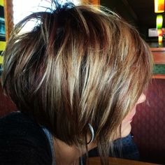 Hairstyles with layers Latest Pics of Short Hairstyles for Thick Hair Latest Pics of Short Hairstyles for Thick Hair - short-hairstyless. Short Hairstyles For Thick Hair, Layered Bob Hairstyles, Haircut For Thick Hair, Short Hair With Layers, Short Hair Cuts For Women, Short Hair Styles, Short Haircut, Latest Short Hairstyles, Trendy Hairstyles