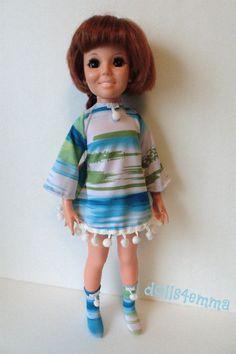 OOAK CRISSY DOLL CLOTHES DRESS & BOOTS fits Kerry Handmade Fashion NO DOLL d4e
