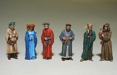 Painted marketplace figs