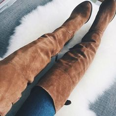 Dolce Vita Leather Suede Over the Knee Boots