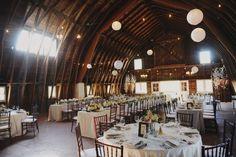 Wedding barn in Michigan. Rustic venue Chicago vintage chic