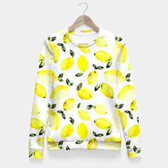 Lemons Fitted Waist Sweater by Katerina Izotova 49.95€