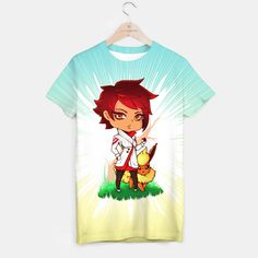 Candela & Flareon in the Wood T-shirt, Live Heroes