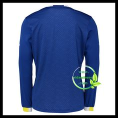 Fotballdrakter Everton Langermet Hjemmedraktsett 2016-2017 Everton, Premier League, Sweatshirts, Long Sleeve, Sleeves, Sweaters, Mens Tops, T Shirt, Fashion