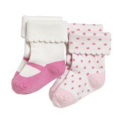 2-pack socks, Pink, Baby 0-1 year, Kids | Lindex