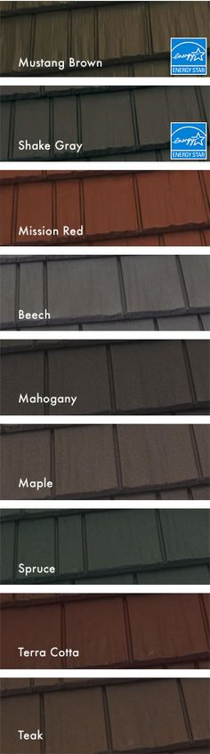 colors available in kassel shake roof shingles by kassel u0026 irons - Siding Types