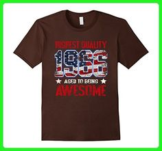 Mens Vintage Born in 1966 51st Birthday T-Shirt 51 Years Old Large Brown - Birthday shirts (*Amazon Partner-Link)