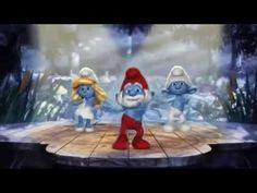 Şirinler Köyü Çocuk Şarkısı - The Smurfs Dance - YouTube