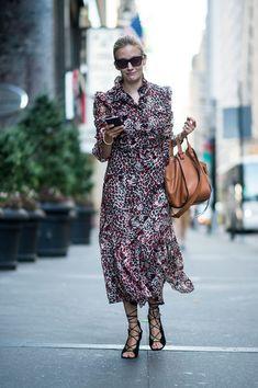 Attendees at New York Fashion Week Spring 2017 - Street Fashion