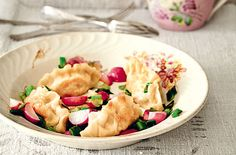 Kartoffel-Vareniki mit Sauerkraut - Schrot und Korn