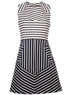 10 Crosby By Derek Lam Striped Sleeveless Dress - Joan Shepp - farfetch.com