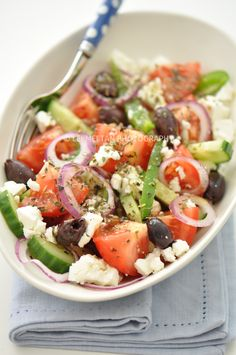 Greek Salad (Salade Grecque)