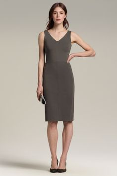 41446f338230 The sneaky-comfy sheath dress (the Rachel) Office Dress Code, Office Dresses