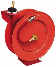"Lincoln Lubrication 83753 50' x 3/8"" Air Reel"