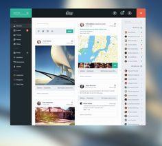 flat ui design 1 Beautiful User Interface Designs