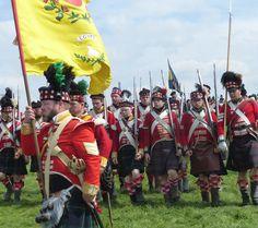 Highlanders del 92 rgt. fanteria e fucilieri del 79 rgt. fanteria inglese